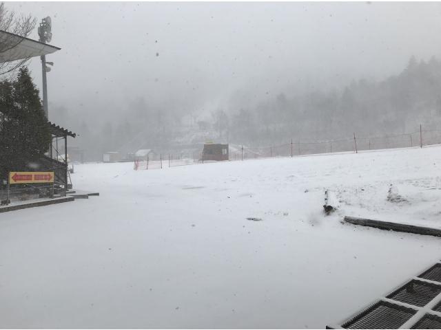 雪だー(^_-)-☆