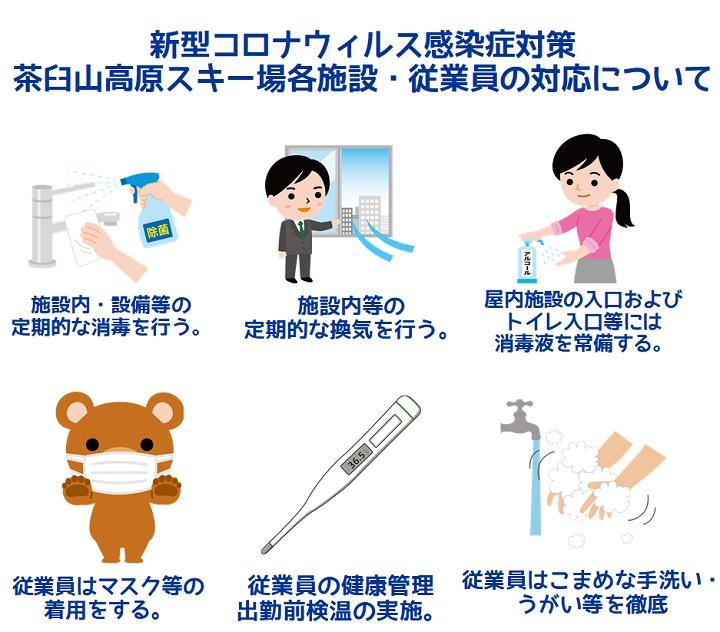 茶臼山高原各施設感染症対策に関するガイドライン